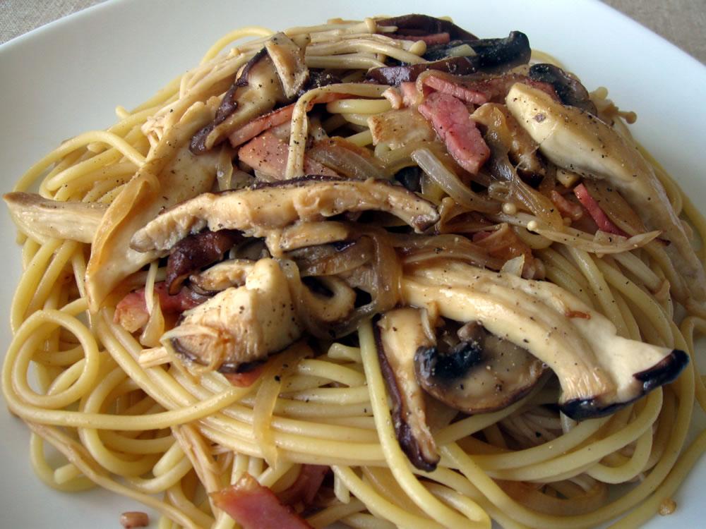 Spaghetti_Mushroom