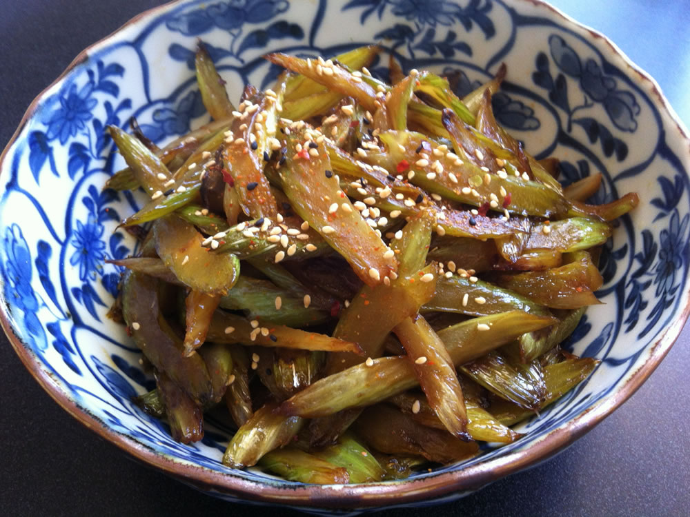 Celery_Kimpira