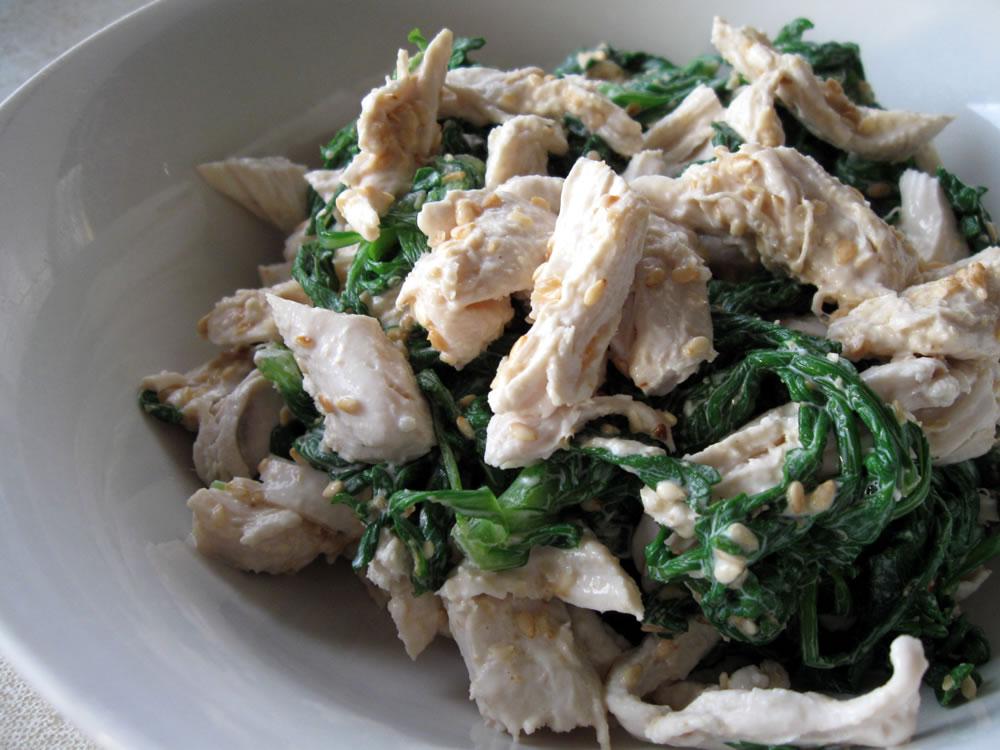 Shungiku_Chicken_Salad