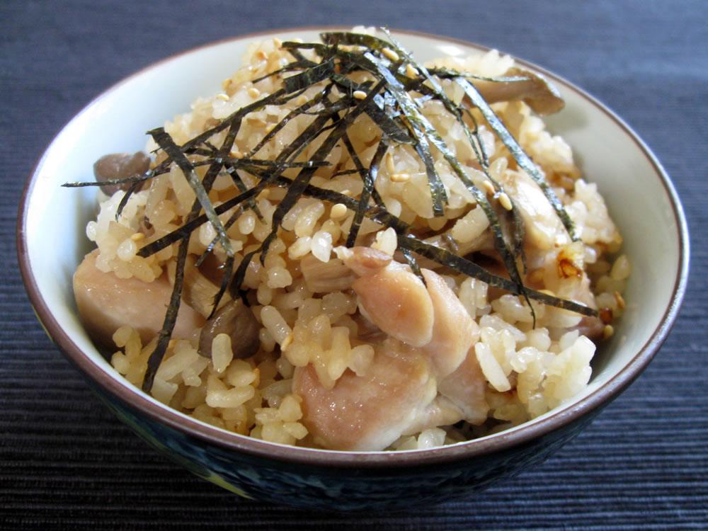 Chicken_Shimeji_Takikomigohan