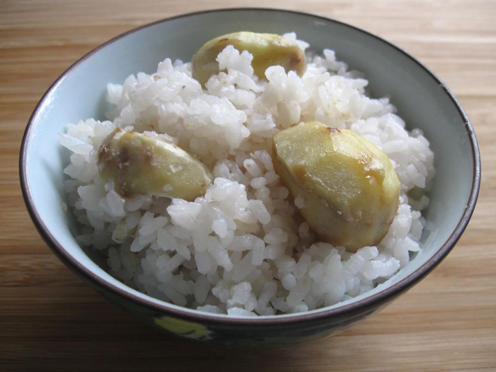 Chestnut_Rice