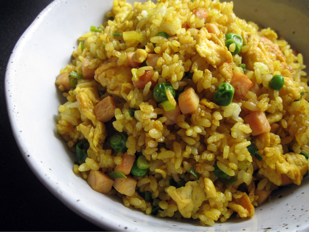 Curry Fried Rice Hiroko S Recipes